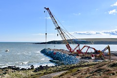 Expansion Project - Nigg Bay Aberdeen Harbour Scotland - 7/4/2018 (DanoAberdeen) Tags: aberdeen harbour niggbay torry construction scotland seafarers maritime seaport abz abdn danoaberdeen nikond750 breakwater dragados ahep engineering community visitor vision aberdeenharbourexpansionproject greyhope scottish autumn winter summer spring bluesky water wasser greyhopebay greyhoperoad girdleness buildingsite engineer aberdeenharbourboard dragadosuk trustport shipping scottishwater expansion project 2018 candid amateur nigg dredger dredging aberdeenscotland northsea geotagged bay port workforce building dredgers balmoralquay crathesquay accropodes castlegatequay aberdeensouthharbour dunnottarquay landscape boats tug lifeatsea accropode structure cruiseships travel tourists