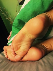 A bit of sole. (pedi_licious) Tags: femalefeet footfetish toes heels arches ankles