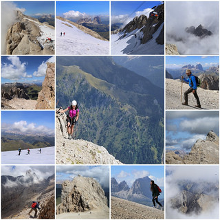 Exploring the highest mountain of the Dolomites