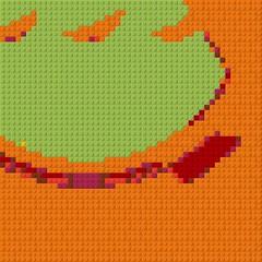 penis gourd_result (fsaiwxbm12) Tags: lego art bricks blocks patterns mosaics codes symbols cock prick sheave penis gourd
