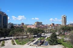 Atop Pyramid of Tirana (TheBeardedTraveler) Tags: albania balkans beardedtraveler vividjoysofuncertainty travel balkantravel