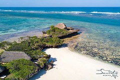 Who can resist the remote beauty of an island bathed in peace and tranquility? #islandlife #holidayvibes #indianocean #whyilovekenya