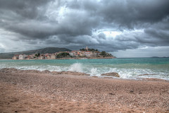 Europe / Croatie / Primosten - Storm on the sea (Torok_Bea) Tags: europe croatie croatia nikon primosten storm vihar tenger beautiful holiday sigma nikond5500 colours clouds