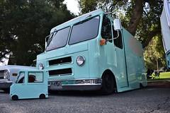 22nd Annual La Verne Cool Cruise (USautos98) Tags: chevrolet chevy c10 stepvan truck hotrod streetrod custom