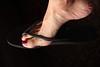 Alegra (IPMT) Tags: toenail sexy toes polish foot havaiana feet metallic fuchsia flip sparkling pedicure shimmer painted toenails pedi barefoot bright cherry red rojo vermelho glossy finish flop pink rosado shimmering chancleta