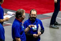 IMG_7534 (holytrinityrobotics) Tags: oakville omgrobots light event coverage robot robotics hersheyscentre gold mechanical electrical pneumatics onchampsfrc first firstcanada frc ontario tronic titans