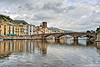 Un ponte per tutte le stagioni (RoLiXiA) Tags: sardegna sardinia sardaigne cerdeña bosa barche planargia panorama pontevecchio ponteottocentesco fiume temo riflesso