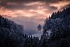 Durchsicht (karo.perez73) Tags: landschaft landscape winter sunset baum tree alpen alps