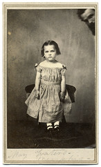 May Waters Is Photobombed (Ron Coddington) Tags: cartedevisite civilwar may margaret waters memphis tennessee 1865
