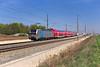 """193 802 (RP) Kleingründlach """"Frankenschnellzug"""" (Fabian´s Eisenbahn Fotografie) Tags: bahn db erlangen nürnberg fürth vde81 vde8 fürther bogen verschwenk vectron siemens doppelstock kbs820"""