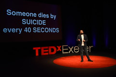 Tom Chapman speaking at TEDxExeter 2018 at Exeter Northcott Theatre (TEDxExeter) Tags: tedxexeter exeter tedx tedtalks ted audience tedxevent speakers talks exeternorthcott northcotttheatre devon crowd inspiring exetercity tedxexeter2017 mentalhealth lionbarbers talking england eng