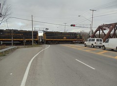 DSC02398R (mistersnoozer) Tags: shortline railroad lal c425 locomotive train
