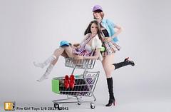 FIRE GIRL FG-041 School Uniforms - 01 (Lord Dragon 龍王爺) Tags: 16scale 12inscale onesixthscale actionfigure doll hot toys firegirl