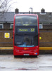 GAL E37 - LX06FKM - PM PECKHAM BUS GARAGE - THUR 15TH MAR 2018 (Bexleybus) Tags: goahead go ahead london pm peckham bus garage blackpool road adl dennis enviro 400 e37 lx06fkm tfl route 37