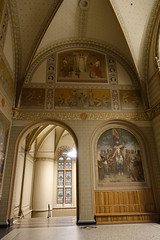 Murals (Sparky the Neon Cat) Tags: europe netherlands north holland amsterdam rijksmuseum museum art gallery mural
