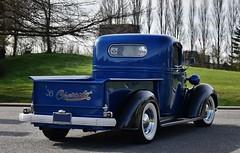 1938 Chevrolet pickup truck (Custom_Cab) Tags: 1938 chevrolet chevy pickup truck pick up blue street hot rod custom