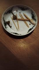 Rautavistique (erix!) Tags: plate sticks zahnstocher toothpicks rautavistik