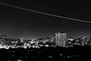 Cityscape (Shahrear94) Tags: long exposure night light trail canon 70d 50mm aeroplane dhaka black landscape building tree sky notripod f8 slow shutter bangladesh detail printready life monochromatic bnw shadow flicker exposed needwide simplistic