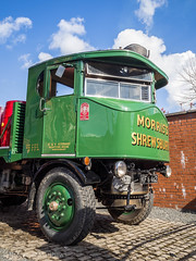 Sentinel 8571 (Ben Matthews1992) Tags: sentinel steam wagon waggon lorry truck commercial shropshire salop britain england morris lubricants oils morriss flatbed kf6482 dg dg4 engine traction classic old vintage historic preserved preservation vehicle transport