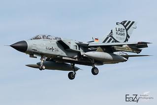 44+34 German Air Force (Luftwaffe) Panavia Tornado IDS