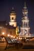 Dresden (Bastian.K) Tags: dresden bench bank night city bokeh aporis 135mm 24 jch msoptical high iso depth 3d germany deutschland castle church schloss palace palast street streetlamp streetlamps laterne laternen strasenlaterne strasenlaternen