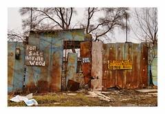 Beware (TooLoose-LeTrek) Tags: detroit rust abandon junk urbandecay