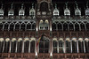 Brussels City Museum, Belgium (Plan R) Tags: museum brussels night evening leica m 240 noctilux 50mm flag neogothic