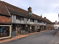 The George (My photos live here) Tags: alfriston east sussex england te george inn pub tudor old historic building high street