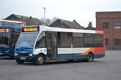 Stagecoach Norfolk 47243 GX55DXM (Will Swain) Tags: kings lynn bus station 13th january 2018 buses transport travel uk britain vehicle vehicles county country england english east norfolk stagecoach 47243 gx55dxm
