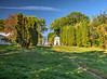 Alersandria Park. HDR (kud4ipad) Tags: 2015 garden landscape park aleksandria botanic tree sky grass cloud