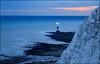 Beachy Head (jeanny mueller) Tags: uk england eastbourne sevensisters beachyhead landscape seascape sea sunset evening cliffs east sussex lighthouse