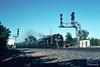 Classic Conrail Power and Classic Signals (jwjordak) Tags: 4022 signalbridge trainocs101 passengertrain passengercar cr cantilever ocs typeg officecar e8 antenna tower signal conrail train berea ohio unitedstates us