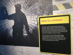 UK - London - City of London - Museum of London - Whitechapel fatberg exhibit (JulesFoto) Tags: uk england centrallondonoutdoorgroup clog london cityoflondon museumoflondon whitechapelfatberg barbican