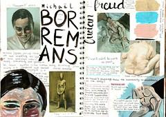 Borremans & Freud (katyabk) Tags: human body painting research nude schiele degas borremans freud colours