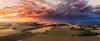 Blampied Sunnset (Mark McLeod 80) Tags: australia ballarat dji daylesford drone kingston markmcleod markmcleodphotography vic aerial rural storm blampied