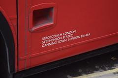 Stagecoach London (jamietunstall) Tags: transportation transport travel bus buses london londontransport stagecoachbus stagecoachuk stagecoach stagecoachlondon routemaster heritage