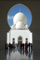 Sheik Zayed Grand Mosque (geneward2) Tags: sheik zayed grand mosque abu dhabi islam dome architecture