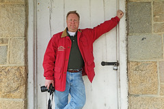 Doorway (FAIRFIELDFAMILY) Tags: granite stone winnsboro sc south carolina barbour jacket waxed coat english fairfield county jason taylor carson polo vintage ralph lauren barn red architecture building old pine tree straw field house historic explore outside canon camera door rock jeans design style