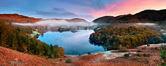 Dawn Colours of Grasmere (Dave Massey Photography) Tags: grasmere lakedistrict cumbria landscape scenic panorama dawn
