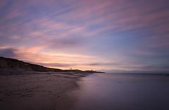 Happisburgh 497 (StuMcP) Tags: happisburgh lighthouse sunset sea beach nd tide stuartmcpherson coast cliffs sand shore seashore