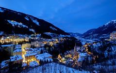 Winter in Bad Gastein, Austria (Maria_Globetrotter) Tags: 2017 2018 eu europe mariaglobetrotter photography trip dscf0154lr2 blue hour twilight night winter snow
