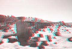 New Mexico wilderness rocks in 3d (CaptDanger) Tags: 3d 3dimensional 3dglasses 3dimages 3dimage 3dpicture 3dphotography newmexico newmexicolandscapes anaglyph3d anaglyph anaglyphglasses analglyph