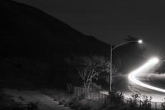 Paths, light and dark (iMacAdami) Tags: highway highway1 longexposure bw monochrome xchrome landscape silhouette xf60mm xf60mmf24