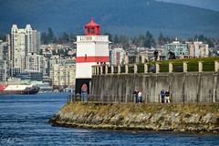 Brochton Point Lighthouse/ Brochton Point (SonjaPetersonPh♡tography) Tags: vancouver bc canada waterfront downtownvancouver skyline landscape waterscape britishcolumbia nikond5300 nikon scenery scenic viewpoint stanleypark stanleyparkseawall