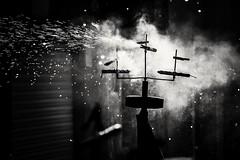 Ball de Diables . (Alex Nebot) Tags: diablos fuego polvora petardos fiesta popular cultura petards foc diables ball vendrell catalunya catalonia tarragona penedes bn blackanwhite blanckandwhite nikon d7200 people onfire fire streetphoto