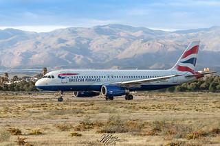 British Airways, Airbus A320-232, G-EUUT