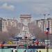 L'Arc de Triomphe, Paris, France