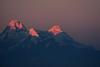 Crepuscular light on Nandadevi (draskd) Tags: nandadevi crepuscular light binsar sunset dusk hue himalayas mountainpeaks nightfall lastrays saariysqualitypictures