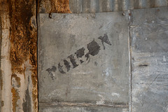 Poison Sign in Standard Mill (Jeffrey Sullivan) Tags: poison sign metal container cyanide mining stamp mill standardmill bodie state historic park timelapse video commercial photography abandoned wild west ghost town eastern sierra bridgeport mono county california canon 6d copyright september 23 2016 jeff sullivan