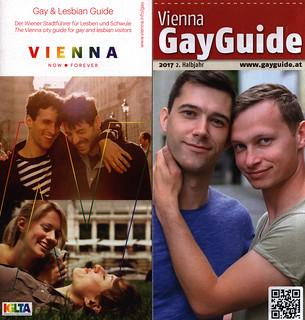 Vienna Gay Guide, Gay & Lesbian Guide; 2017, Wien, Austria